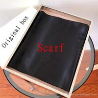 Moda série high-end mulher cachecol designer forma padrão senhoras marca lenço de alta qualidade lenço de seda 1: 1 relação com caixa original