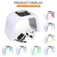 하이 엔드 7 색 LED 광 역학 분광학 가면, 컴팩트 피부 회춘, 여드름 무료 rhytidectomy 무료 DHL / UPS