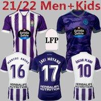 Real Valladolid Weissman Soccer Jerseys 2021 22 Sergi Guardiola Camiseta Marcos André Óscar Plano Hombres Niños Fútbol R.Alcaraz Toni Villa L.OLAZA FEDE S. MILLOTS DE FOOT
