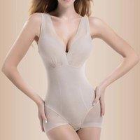 Women's Shapers Women Shapewear Tummy Suit Control Underbust Body Shaper Slimming Underwear Vest Bodysuits Jumpsuit