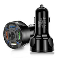 Hot New 2345 ports USB Universal Car Charger For iPhone 12 11 Samsung Huawei Car Mobile Phone Fast charging adapter