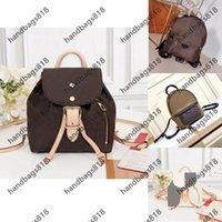 Ladies Designer Bag Backpack Style M44872 mochila backpacks Women mini Sheepskin Leather Classic fashion large-capacity pattern multi-pocket Hotsale School Bags