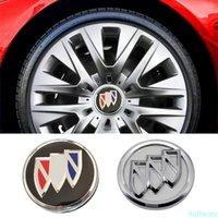59mm 60mm 61.5mm Araba Tekerlek Hubcap Merkezi Kapak için Buick Logo Regal GS Encore Incrave Lacrosse Verano Lesabre Allure Aksesuarları