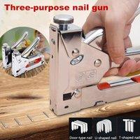 Professionelle Handwerkzeugsets 3in1 Tragbare Multi Möbelhefter-Werkzeuge, Metall-manuelle Dekorationspistole Schnelle Anpassung bequem und arbeits-