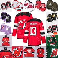 2021 New Jersey Devils Buz Hokeyi Jersey Mikhail Maltsev Michael McLeod Nick Merkley Murray Sharangovich Tennyson Vatanen Zacha Wedgewood