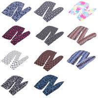 Fashion Camouflage Stampa da uomo Turban Bandans Cuciture esterne Uomini Durag Headwear Fascia Cappello Pirata Accessori per capelli 170 T2