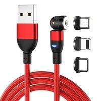 540 Grad rotieren magnetisches USB-Kabel für Harger-Typ-Magnet Harge Micro-Erweiterung