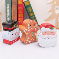 Mini Sealed Boxes Coins Candy Gift Can Christmas Decorative Box Case Christmas Holiday Props Decoration