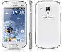 Remodelado Samsung Galaxy S Duos S7562 Dual Câmera 5.0MP 1GB RAM 4GB Rom Wifi Bluetooth GPS Original Celular