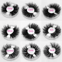 Mink cílios 25mm cílios fofos 3d mark cílios maquiagem dramática longa pestanas naturais por atacado extensão de pestanas maquillaje