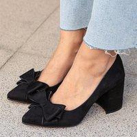 Mio Gusto Black Liz, vin rouge, bleu de haute qualité Couleur de mer bleue sept centimètres hauteur chaussures pompes femmes 00JJ