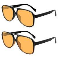 2021 Retro Boy Güneş Gözlüğü Kadın Moda Degrade UV400 Büyük Güneş Gözlükleri Vintage Marka Tasarımcısı Lentes de Sol Mujer