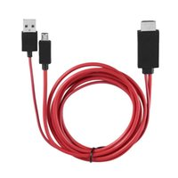 Audio Cables & Connectors Micro USB To Cable 1080P MHL HDTV Adapter Converter For Huawei Sony HTC LG
