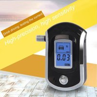 Alcoholism Test Mini Digital Air Blowing Alcohol Tester Breathalyzer AT6000 LCD Display Detector