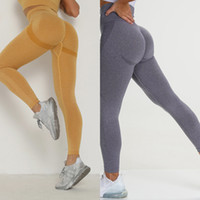 KIWI RATA Sexy Women High Waisted Pants Full Length Seamless Workout Leggings for Fittness Sports Yoga Legging Q
