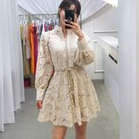 Australian Lady Autumn Bridesmaid Formal Dresses Party Gown Lace Embroidered Puff Sleeve Retro Embroidery Elegant Dress