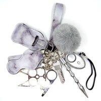 Кольцо для самообороны Брелок для женщин Портачьяви Донна Тревога Тактическая ручка Личная защита Ключевые слова набор девушек подарки Armas