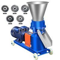 KL-150 بيليه مطحنة متعددة الوظائف تغذية الغذاء بيليه ماكينة آلة تغذية الحيوانات المنزلية المحبب 220V / 380V 100KG / H-120KG / H