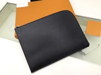 M80044 Pochette Jour GM N64437 Designer Mens Clutch Travel Sleeve Laptop Tablet File Documento Porta documento Portafoglio Portfolio Caso Cover Bag Accessori PM