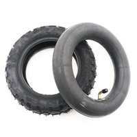 Motorcycle Wheels & Tires TUOVT 10x3.0 Inch Inner Tube Outer Off-road Tire Fit Tyre For Kugoo M4 Pro,ZERO 10X Kaabo Mantis 10x3
