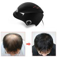 الليزر نمو الشعر خوذة 650nm ديود ليزر نمو الشعر مكافحة تساقط الشعر علاج رئيس مدلك كاب العين نظارات واقية