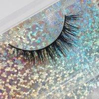 False Eyelashes 10 Mm 3D Mink Wholesale 100% Handmade Fluffy Natural Long Lashes Extension Bulk Hair Full Strip