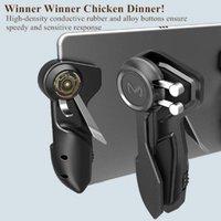 Game Controllers & Joysticks Mobile Pubg Controller Six Finger Joystick Handle Target Button L1R1 Shooter Gamepad Trigger For Ipad Tablet