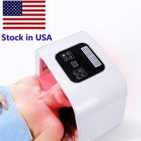 Lager in den USA PDT LED 7 Farblicht Therapie Machine Photon LED Gesichtsmaske für Haut Verjüngung Akne Entfernung Phototherapie Lampe Hekte Verwendung