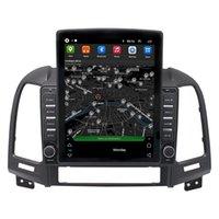 "9.7"" Tesla Android Car dvd Radio for HYUNDAI Santa Fe 2006-2012 Touch Screen Stereo Video GPS Multimedia BT WiFi"