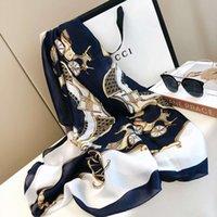 الأوشحة الجديدة عالية الجودة، الطباعة نمط المرأة، شاطئ الحرير شال واقية من الشمس وشاح