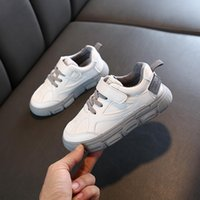 Athletic & Outdoor Fashion High Quality Boys White Toddler Sneaker Children Flat Shoes Casual Baby Kids Girl Running