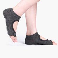 Sports Socks 1 Pair Women Yoga Anti Slip Two Toe Sport Cotton Pilates Sock Ventilation Ballet Professiona Quick-Dry Dance