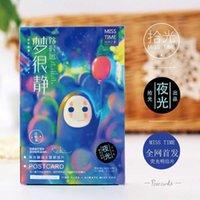 30 Pçs / Lote Spirit Away Dos Desenhos Animados Mão de Filme Desenho Hayao Miyazaki Cartoes Postais Cumprimentando Cartões de Presente de Aniversário de Natal SH190923