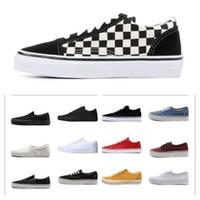 Eski Skool Orijinal Marka Rahat Ayakkabılar Siyah Mavi Kırmızı Klasik Erkek Kadın Tuval Sneakers Moda Serin Kaykay Günlük Ayakkabı 36-45