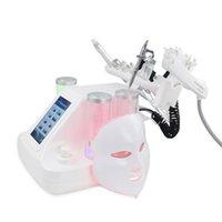 7 en 1 Máquina de la dermabrasión hidráulica Aqua Peeling Cara de vacío de la cara Limpieza de la piel Rejuvenecimiento Agua Oxígeno Jet Hydro Microdermabrasión