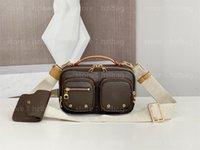 Sporty Utility Crossbody Bag Growbody Sacchetto funzionale multipla tasche multiple con cerniera scorrevole Borsa di monete di lusso BAGS DESIGNERS BAGS M80446
