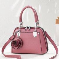 2021 Горячая распродажа Новый стиль сумка мода элегантный цветок кулон женская сумка простая и универсальная сумка