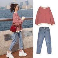 Women's Tracksuits Wholesale 2021 Spring Summer Autumn Selling Fashion Casual 2pieces Set Suit BP11019