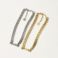 Luxo Designer Jóias Mulheres Gargantilha Chagh Chages Colares Com Carta De Ouro Pingente e Pulseiras Ternos De Aço Inoxidável De Prata Estilo de Moda Material