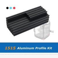 Voron V0 1515 Aluminum Extrusion Profile Frame Kit DIY Length 100mm 200mm Bracket Set For 3D Printer Parts