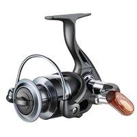 BAITECASTING ROELS QIDA 12BB Métal Spinning Bobine de pêche 5.2: 1 Line Ligne Tachez de la roue de poisson Outils extérieurs