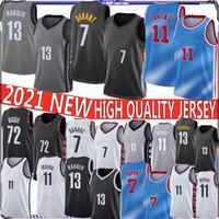 7 Kevin Durant Kyrie Irving para hombre 11 Escuela de Baloncesto jerseys Net 2019 Nueva Universidad NCAA Baloncesto jerseys en la acción S-XXL
