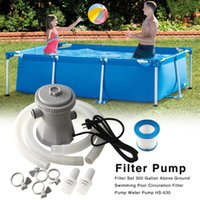 Pool & Accessories 220V Electric Filter Pump Clean And Water Dirty Pond Pumps   Cleaner
