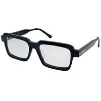 5711-B نظارات البصريات الجديدة مع حماية للرجال النساء خمر ساحة اللوح إطار شعبية أعلى جودة تأتي مع حالة النظارات الكلاسيكية