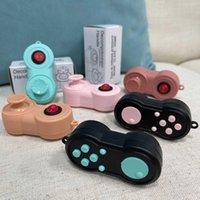 Fidget Sensory Pad Spinner Brinquedos Clássicos Jogo Pads Lidar com Botão Botão Interruptor de Dedo Bubble Popper Chave Chaveiro Jogos De FretePads Rocker Stress Relief G632QM2