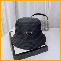Bonnet de godets en gros pour femmes Hommes Chapeaux Nylon Luxurys Designers Caps Chapeaux Hommes Bonnet Bonnet Bonnet Cappelli Firmati Mütze Bonnets Sun D2106102L
