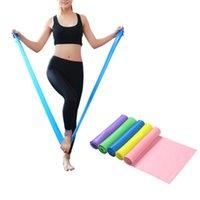 Bandes de résistance 150cm Exercice de remise en forme longue en caoutchouc yoga équipement de gymnastique de gymnastique élastique boucle de corde pour formation