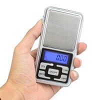 حار ميني جيب مقياس الالكترونية 100 جرام 200 جرام 0.01 جرام 500 جرام 0.1 جرام مجوهرات مقياس الماس مقياس عرض شاشة LCD مع حزمة البيع بالتجزئة 8 S2