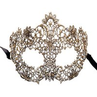039 2021 hot sell New fashion women's Mask Makeup Dance Holiday party creative lace mask princess female party mask