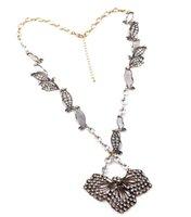 펜던트 목걸이 유럽과 미국 최고 판매 놀라운 액세서리 스타일 빈티지 클러스터 잎 목걸이